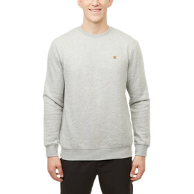 tentree TreeFleece Classic Crew LS Shirt Men hi rise grey heather